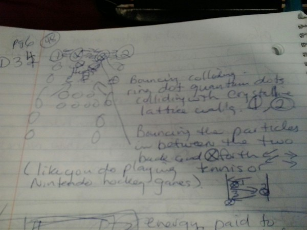 Diagram 34 WOW! SETI SIGNAL Bouncing Particles magnetized in HEF ring Dot Quantum Dots Flux Positive negative particles