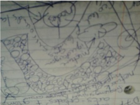 Diagram 77 WOW! SETI hyperbole space bendable superalloys crystal lattice atoms nodes RF signals
